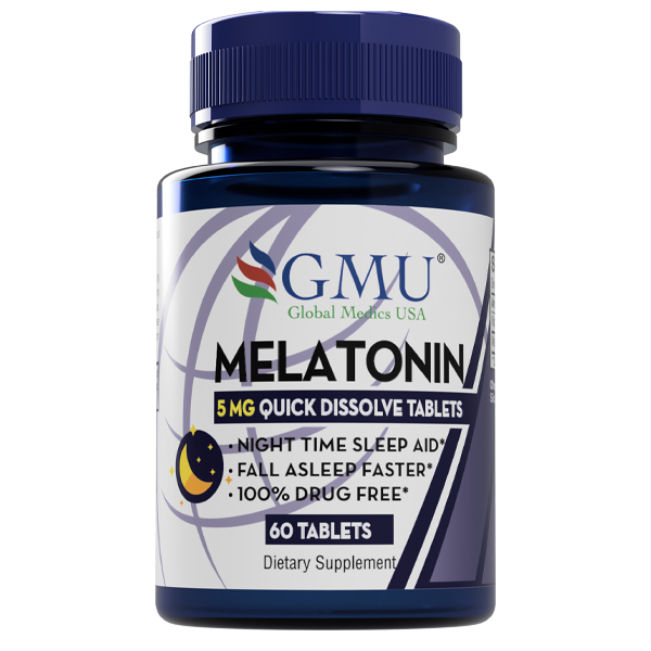 Melatonin 5mg, mint flavor