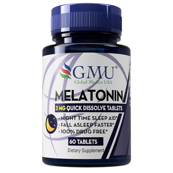 Melatonin 3mg supplement